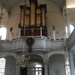 Pipe Organ and the oldest working clock in The Old North Church