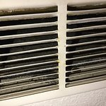 mold was found in abundance in room vents and air ducts, A/C too