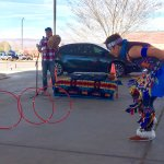 Tomas Hunt ... Hoop dancer from Chief Tsosie's