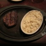 Filet and Blue Cheese Grits