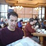 MATT IN DINING HALL