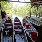 The lake canoes
