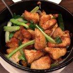 Chicken in a Hot Pot