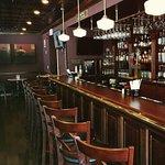 Beautifully renovated bar.