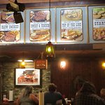 Shorty's Barbecue wall