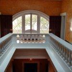 Second floor paladium window