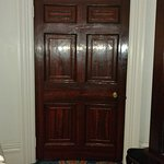 Cool curved doors that have been restored