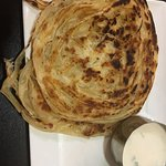 Parotta Veg Curry, chaas