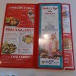 Ruby's Diner, Laguna Beach, CA.