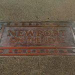 Newport on the Levee (plaque).