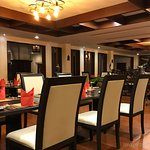 The main dining room...