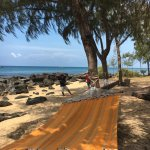 Tai Chi am Strand ist beruhigend und lehrreich.