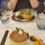 Desserts exquis et très frais