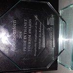 Received employee of the year award #prideinthanettourismawards