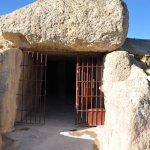 Entrance of the Menga Dolmen.