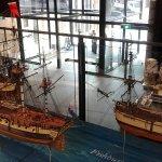 First fleet models on the first floor