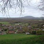 Homer village from Wenlock Edge