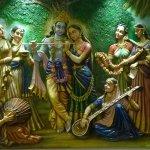 mural paintings madhuban ashram