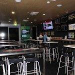 Sports bar area