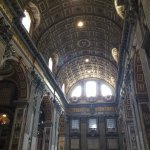 Impressive High Ceilings in the Basilica