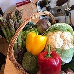 Retour du marché  Filet de rouget méridionale  Mignon de porc aux figues