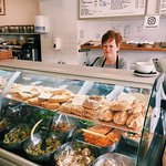 Salad and Pastries made fresh every day