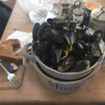 After I'd demolished the beautiful mussels