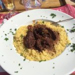 Plat du jour - Bœuf aux oignons avec sa semoule 20€