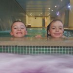 Kids loved the pool area in the basement. Warm pool, very hot spa.