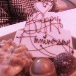 Special anniversary treat