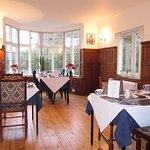 Our oak paneled Breakfast Room.