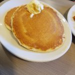 Pancakes come with the combo
