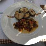 Cod with ratatouille