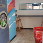 Laundry a few minutes walk away from Novotel