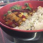 Kung Pao Chicken Bowl (Gluten Free)
