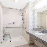 Accessible Guest Rooms available with roll in shower