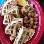 Chicken n Waffles... Delish!