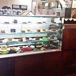 their desserts display