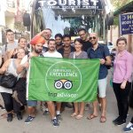 TripAdvisor Flag Pics with our Guest