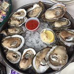 Raw oysters and Étouffée at its best.