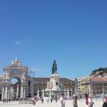 Praça do Comércio - Lisbon - with Statue of King José I