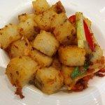 XO Lo Pak Gou (XO Pan fried daikon/radish cake)