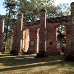 Old Sheldon Church Ruins ภาพถ่าย