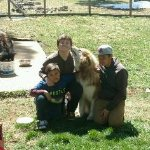 Lucy, Max and my boys!