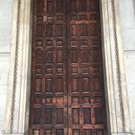 Wooden doors of St. Paul's Cathedral