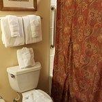 bathroom adjoining bedroom 2