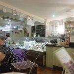 Inside cafe ..