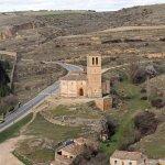 Segovia. Iglesia de la Veracruz. Vistas desde el Alcázar.