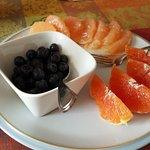 Fresh fruit w/ breakfast