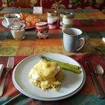 The best eggs benedict on a potato cake